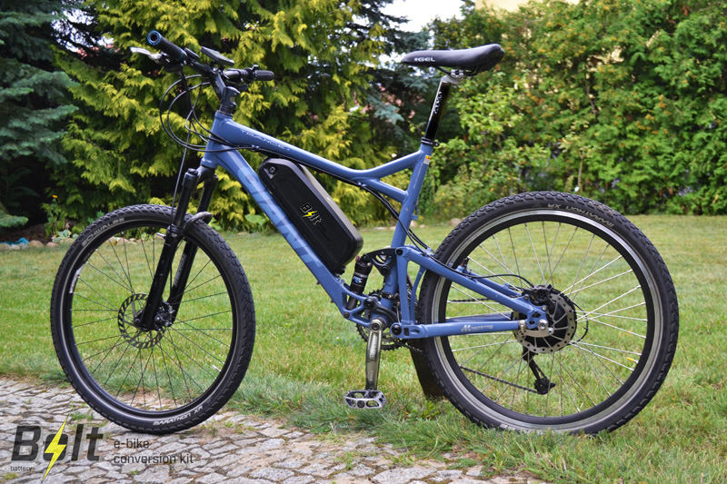 E-bike - historia powstania