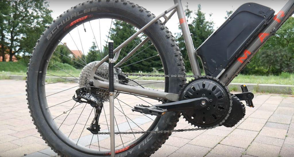 Rower elektryczny - napęd centralny