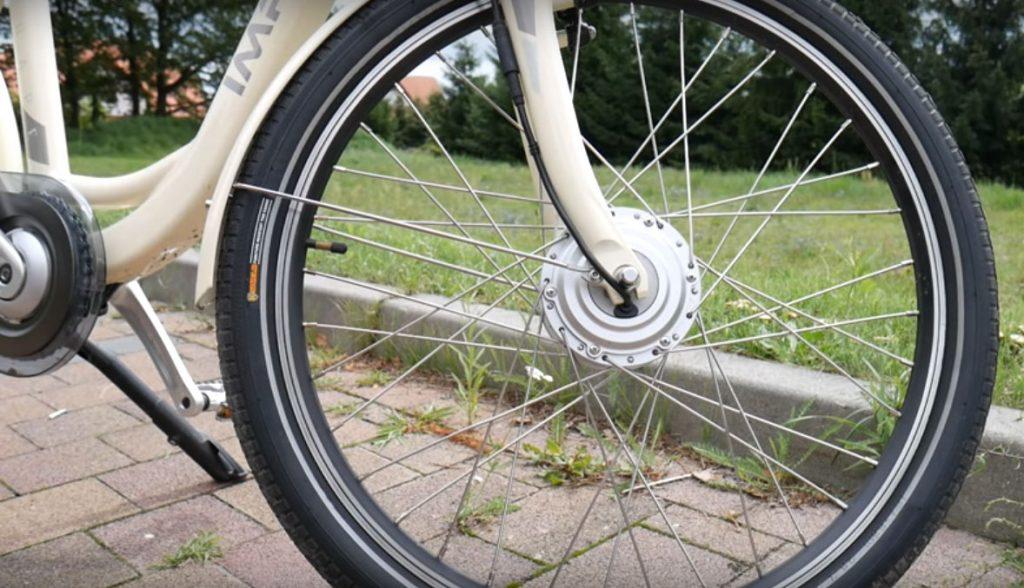 Rower elektryczny - napęd na przednie koło
